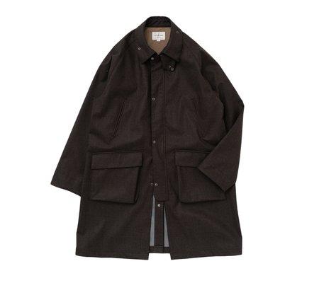 Still By Hand 3-Layer Field Coat -  Dark Brown