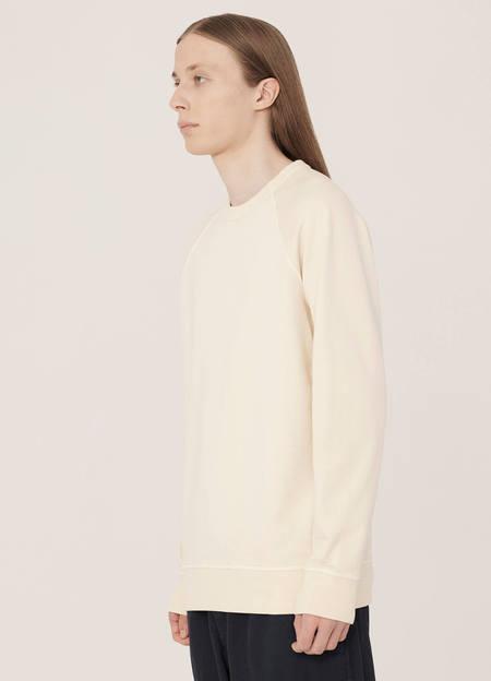 YMC Schrank Cotton Raglan Loopback Sweatshirt - Ecru