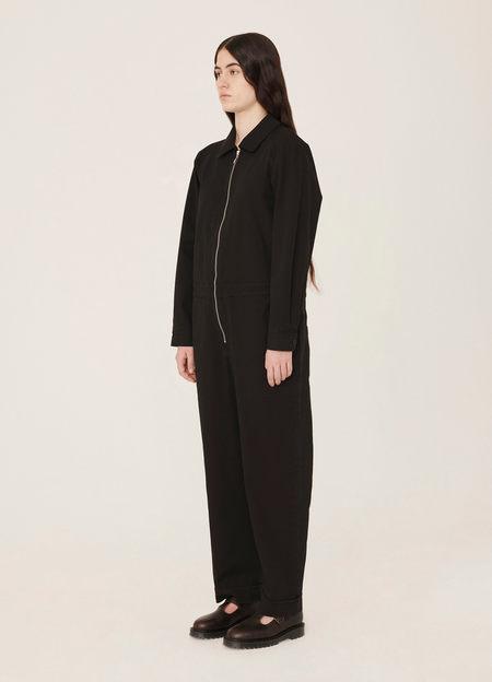 YMC Harvest Cotton Aquila Twill Jumpsuit - Black