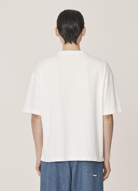 YMC Triple Cotton Neps Jersey T-Shirt - Ecru