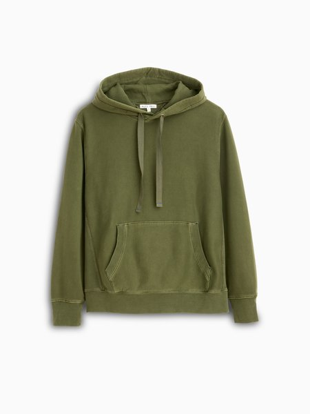Alex Mill Thermal Lined Fleece Hoodie - Thyme