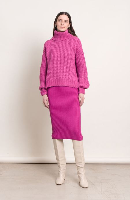 ELEVEN SIX Ali Sweater - Fuschia