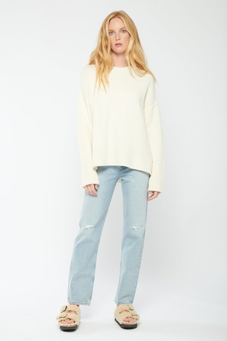 AGOLDE 90's Pinch Waist High Rise Straight Jeans - Flashback