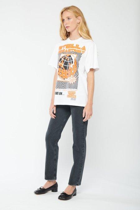 AGOLDE 90's Pinch Waist High Rise Straight Jeans - Black Tea