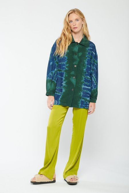 Raquel Allegra Explorer Tie Dye Jacket - Kelly Storm