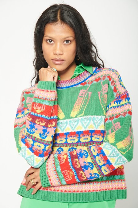 STELLA MCCARTNEY Keep-in-touch Jumper - Multicolor