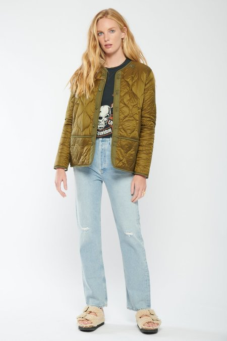 Mother Denim The Jacket lining Jacket - Army Green