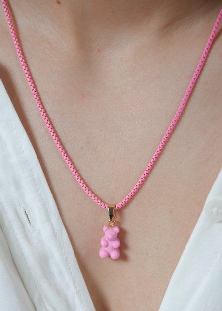 Crystal Haze Plastalina Chain - Candy- Pink