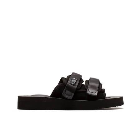 UNISEX SUICOKE Moto VS slippers - BLACK