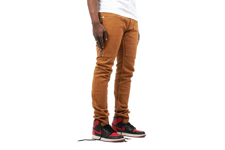 Mr Completely HAMPDEN PANT - CLAY