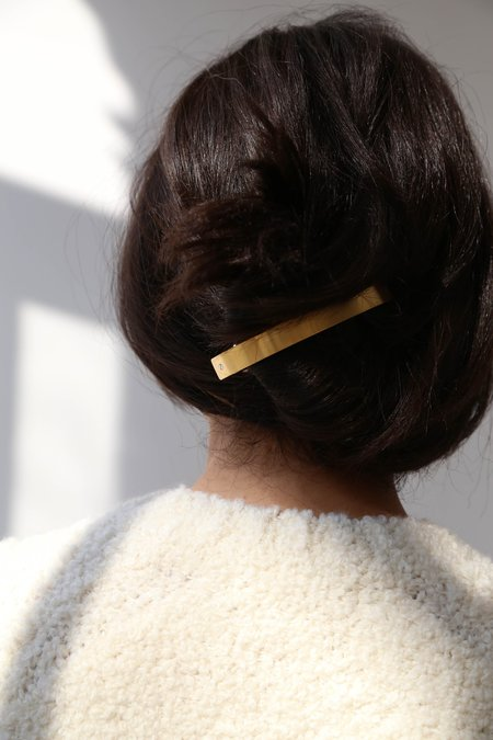 MINT Barrette from France - Gold