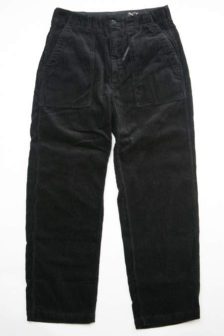 Engineered Garments x Totem Brand Co. Cotton 8W Corduroy Fatigue Pant - Black
