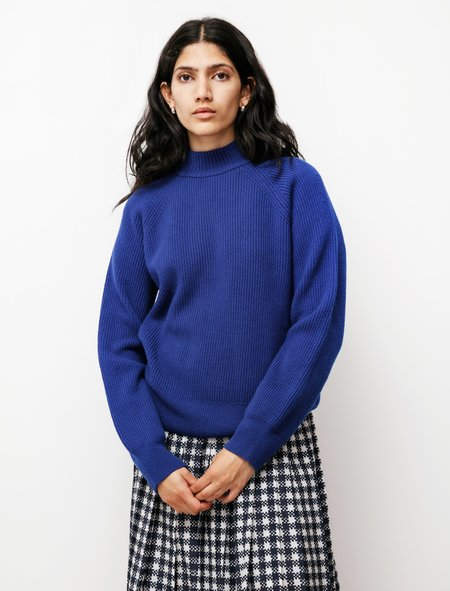 Norse Projects Evelina Lambswool sweater - Hydrone Blue