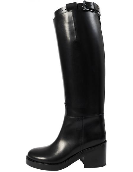 Ann Demeulemeester Black stan heel boots-Black