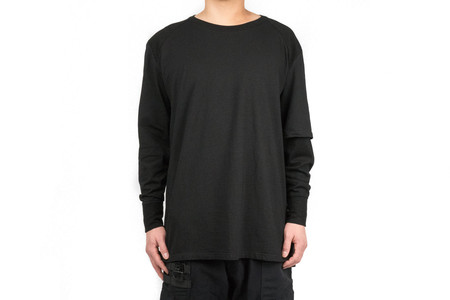 "Guerrilla Group STANDARD-ISSUE 03 ASYM L/S TEE ""ES-TT01"""