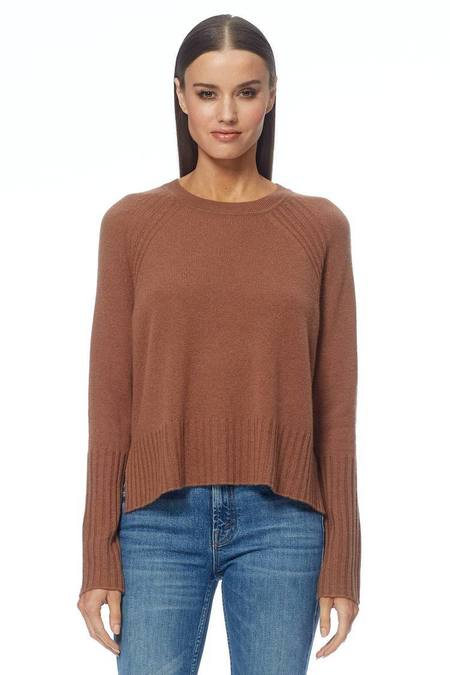 360 Cashmere Freda sweater  - Chestnut