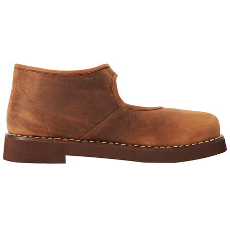 Maison Margiela buckled leather boots - Brown