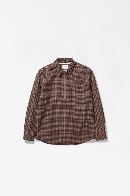 Norse Projects Elof wool utility Shirt - khaki check