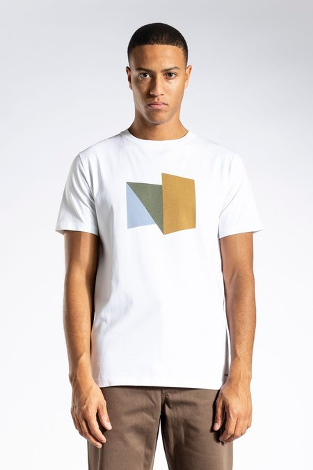 Norse Projects Niels Standard Abstract Tshirt - Brass Yellow