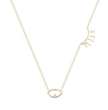Hortense Wink Necklace