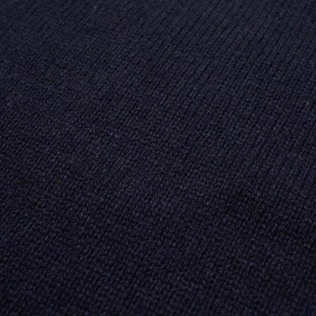 Universal Works Recycled Wool Roll Neck - Navy