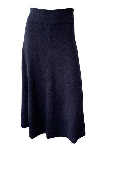 Rodebjer Arnai Wool Skirt - Navy