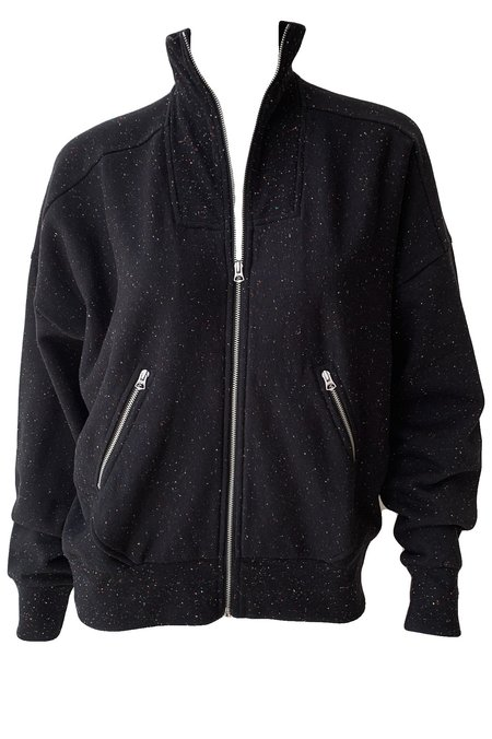 Rag & Bone City Zip Jacket - Black Multi
