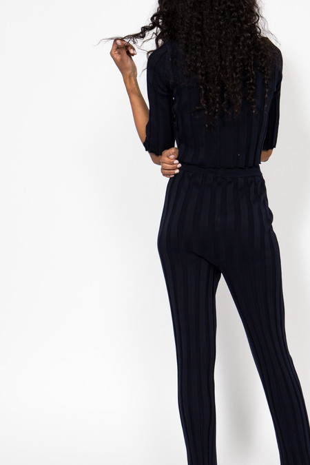 Suzanne Rae Pleated Knit Pant