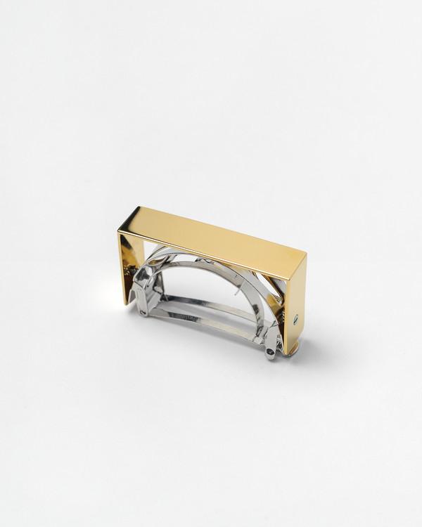 Sylvain le Hen Barrette 041 in Shiny Gold