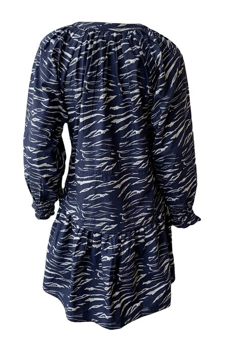 Apiece Apart Pieza Mini Dress - Wild Flower Navy