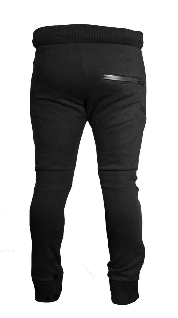 Sons Of Heroes Leather Biker Trousers