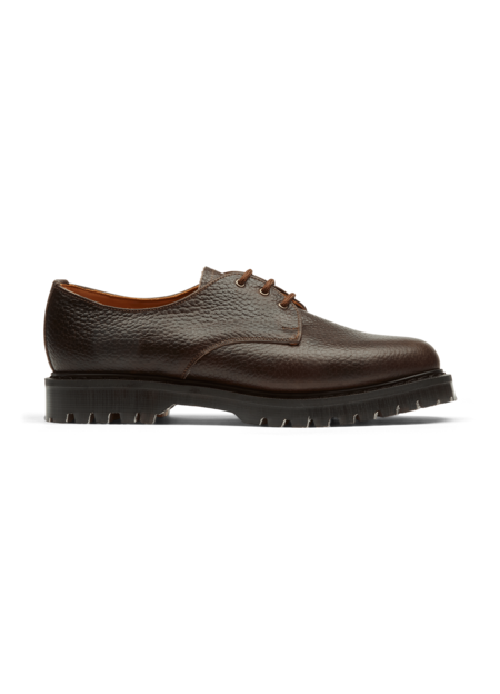 Solovair x YMC Men's Leather Gibson Shoes - Brown
