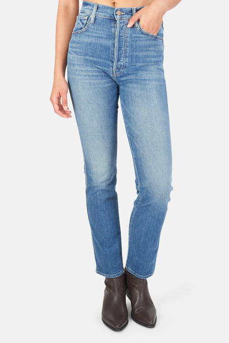Women's MOTHER High Waist Double Hiker Skimp Jeans - Love Bombs