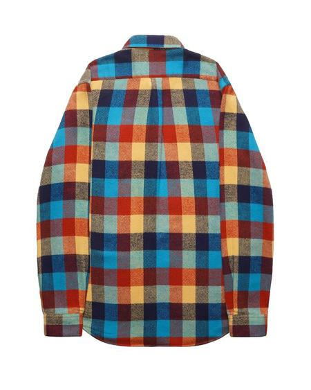 Portuguese Flannel PERFORMANCE CHECK TOP - MULTI