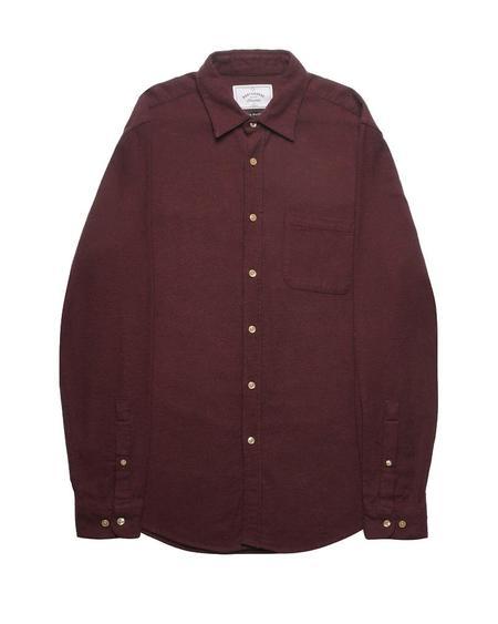 Portuguese Flannel TECA TOP - BORDEAUX