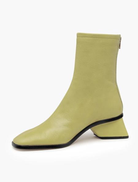 Paloma Wool Helma Midi Boot - Light Green