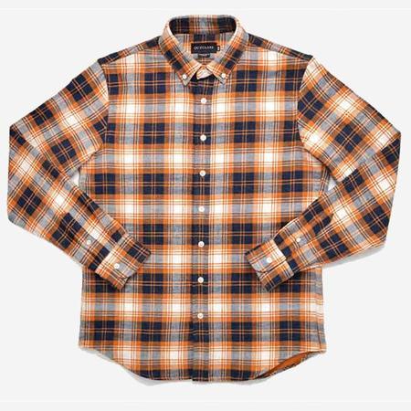 Outclass Double-Sided Flannel Shirt - Pumpkin Plaid