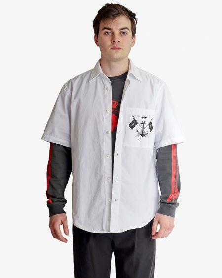 PHIPPS Marine Uniform Shirt - white