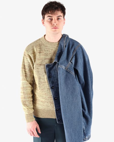 Namacheko Manni Denim Shirt - L'Blue Wash
