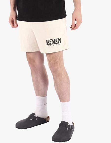 Eden Recycled Sweat Short - Beige