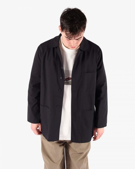 Camiel Fortgens 11.03.8 Worker Cotton Shirt - black