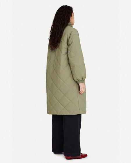 Samsøe & Samsøe Chaqueta Nancy Coat - Covert Green
