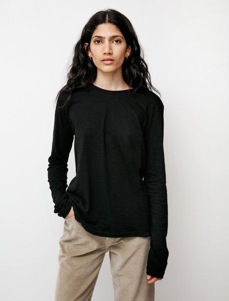 Organic by John Patrick Long Sleeve Boy T-Shirt - Black