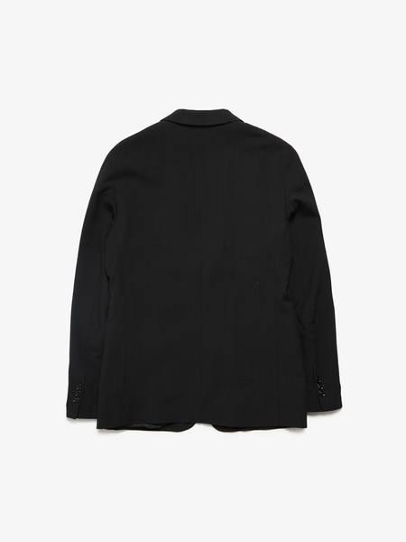 Maison Margiela Male Black Wool Blazer Pre-Loved -Black