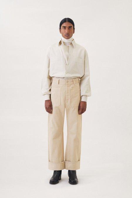 Lemaire Denim sailor pants - Saltpeter