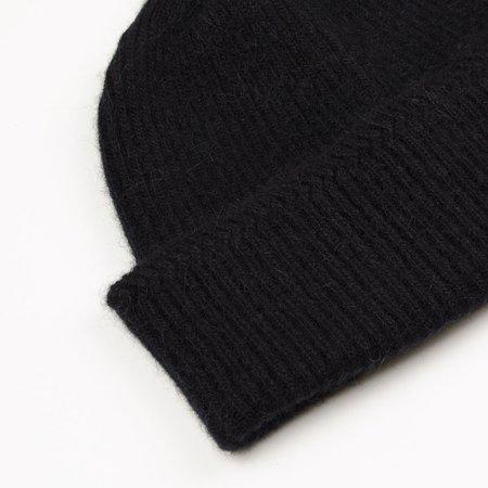 cableami  Baby Alpaca Beanie - Black