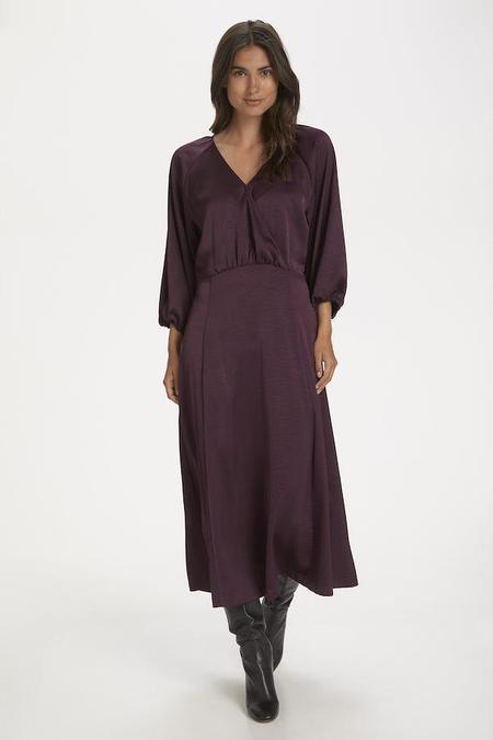 Part Two Feri Dress - Wine