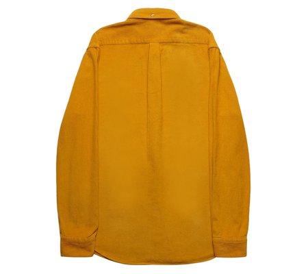 Portuguese Flannel Lobo Corduroy Shirt - Mustard