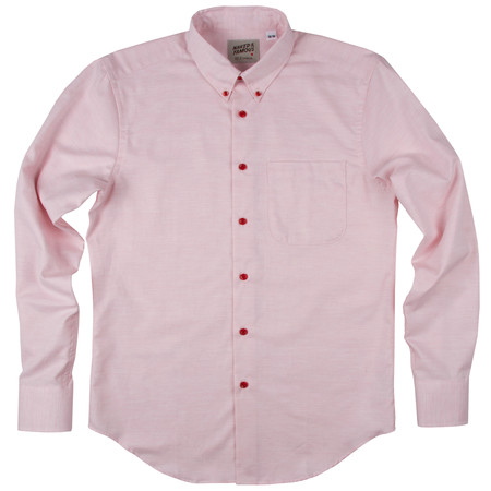 Naked & Famous Real Fruit Dyed Oxford - Strawberry