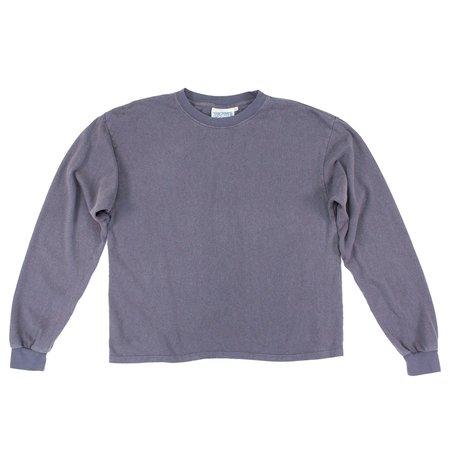 Unisex Jungmaven Cropped Long Sleeve Tee - Diesel Gray